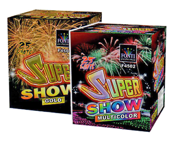 SUPER SHOW MULTICOLOR